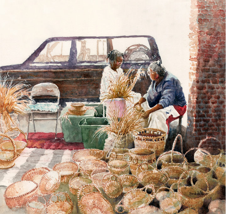Sweetgrass Market Weavers