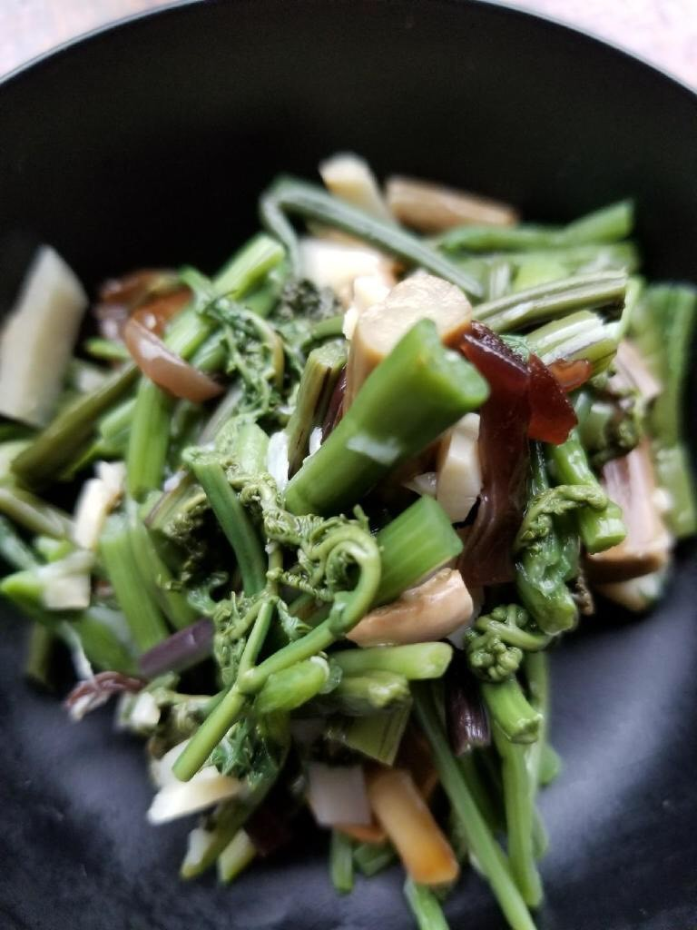 Japanese Mountain Vegetables $6