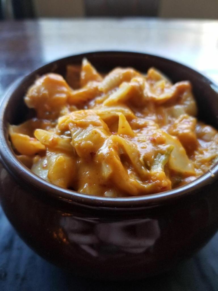 Kimchi Crawfish Mac & Cheese $8