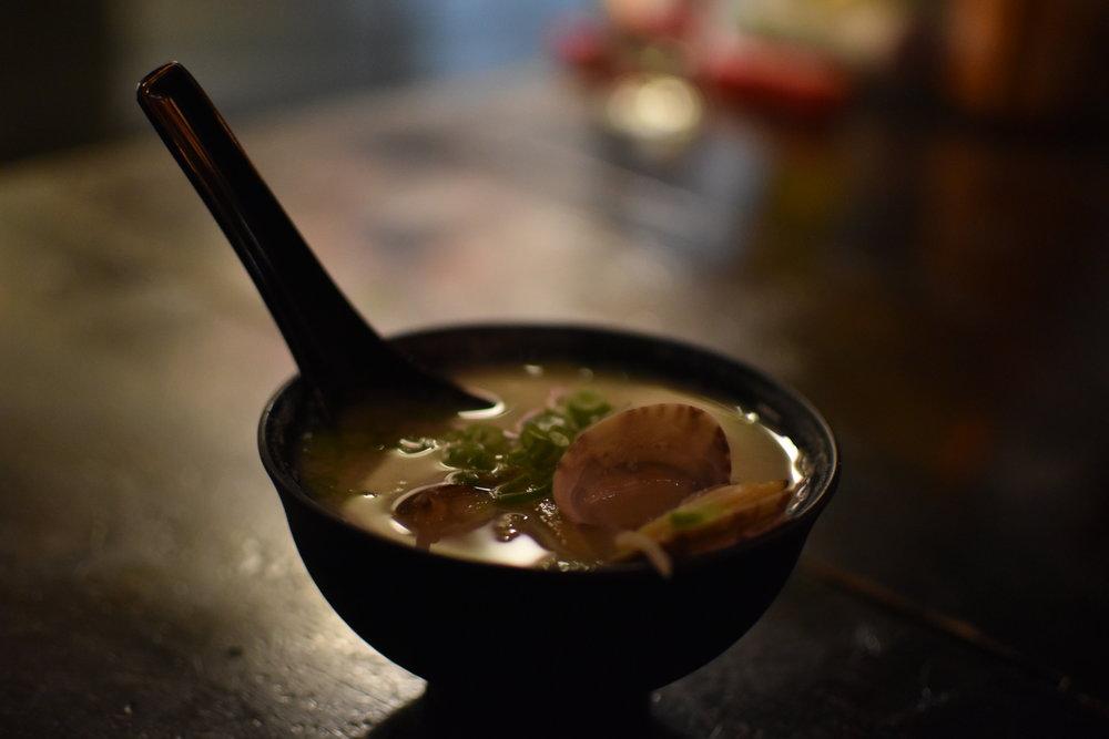 Clam Miso Soup $4