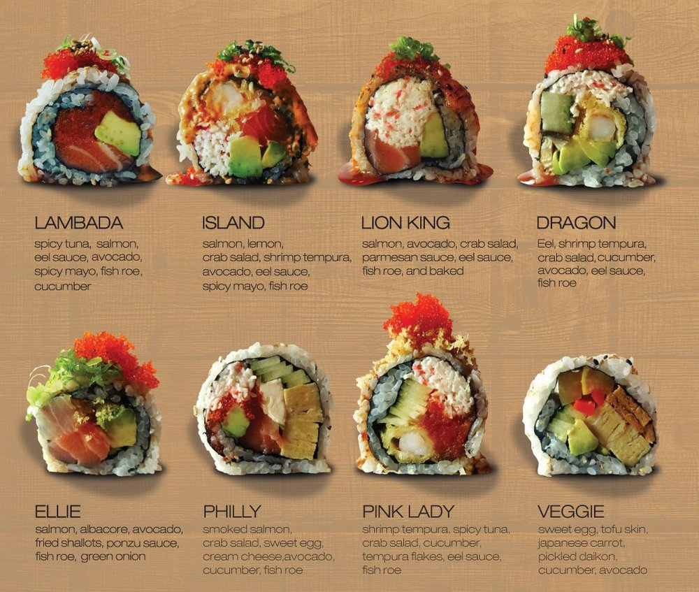 Try one of our hand crafted rolls, or create your own! -