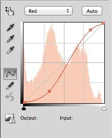 Red Curves Adjustment for Teal & Orange Look