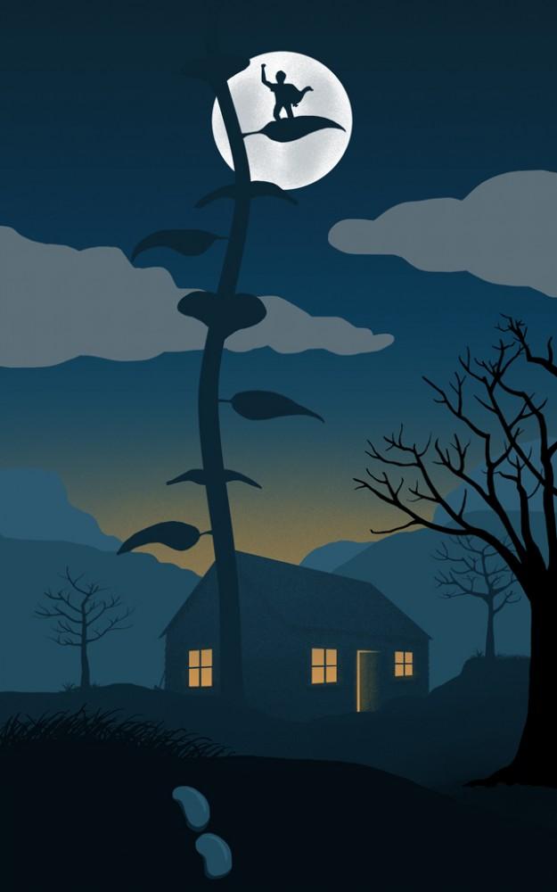 Jack, a Goose and a Beanstalk by Jon Milet Baker