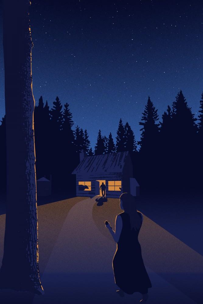 House in the Woods by Jon Milet Baker