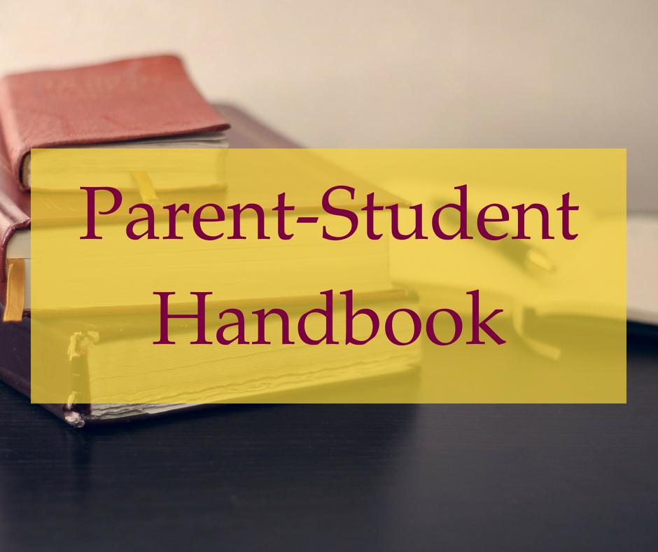 2018-2019 Parent-Student Handbook -