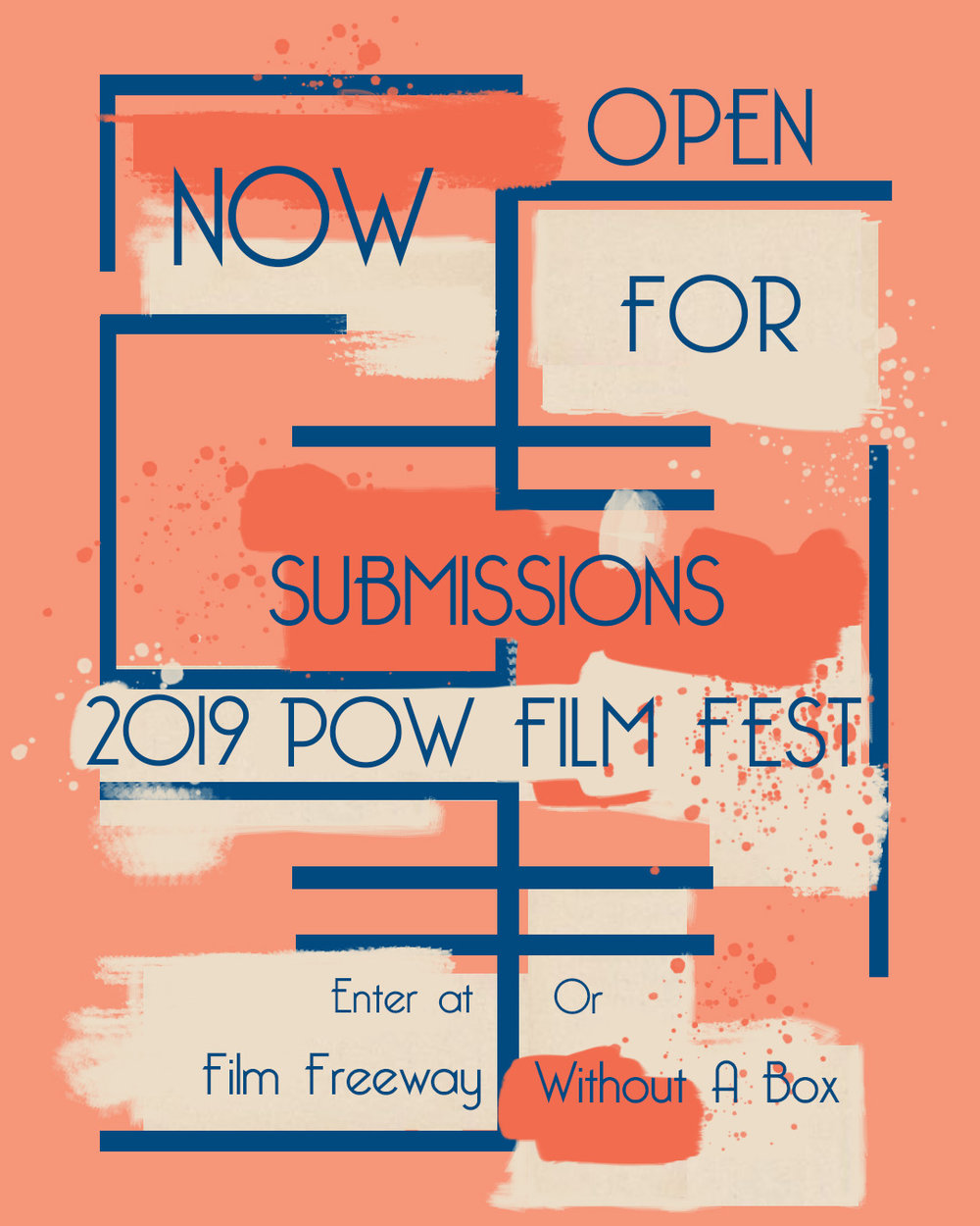 SUBMIT YOUR FILM FOR our 2019 Festival - Use one of our two partners to submit your film for consideration for 2019 POW Film Fest. Please read our guidelines before submitting.