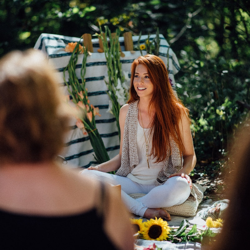 """""""Kelly is a truly gifted healer and teacher committed to collective liberation… creating real space for personal breakthroughs on the most pressing issues facing humanity."""" - - Kelly Elizabeth Behrend, Founder of Awaken Your Chakras"""