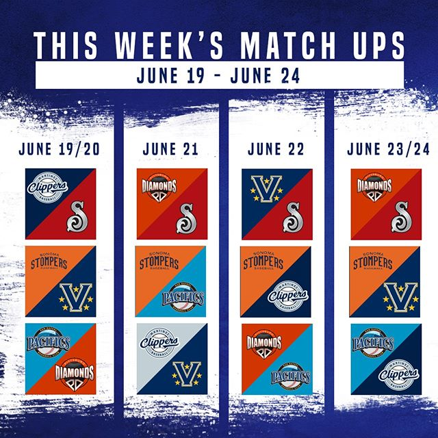 Check out this week's match ups! ⚾️📋#PAPBC #MatchupMonday