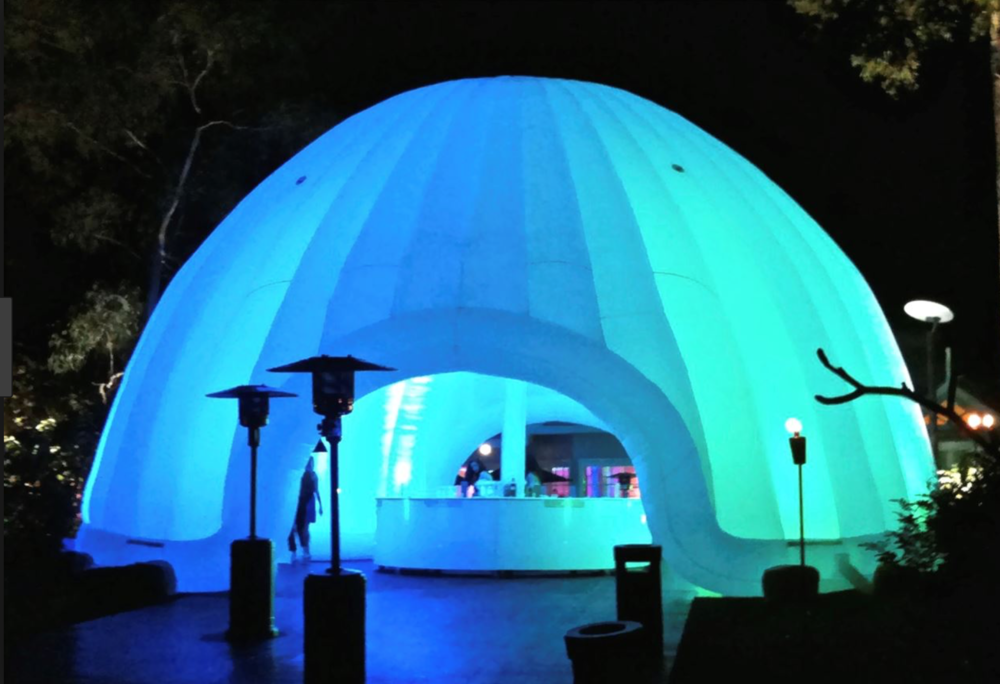 led-inflatable-dome