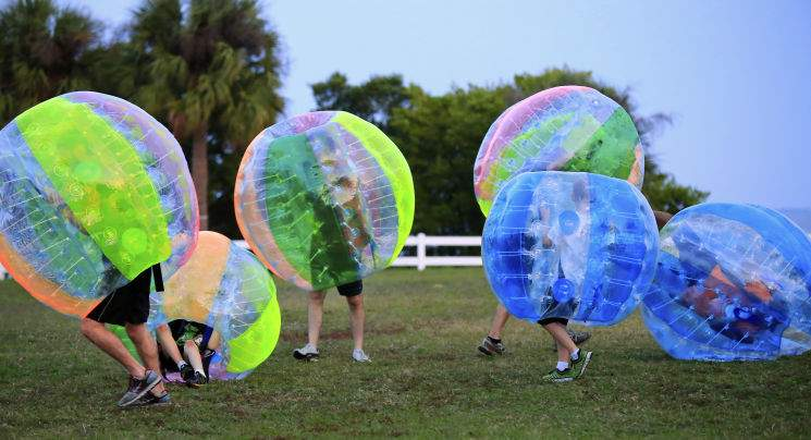 multi-coloured-inflatable-zorbs