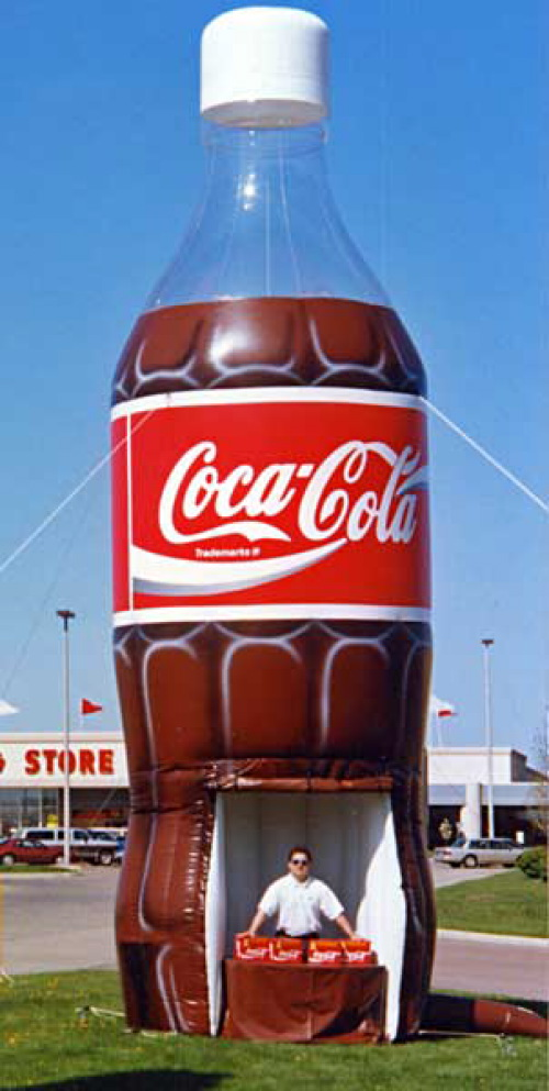 inflatable-coke-bottle