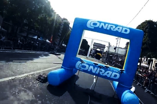 Inflatable Drone Gates -