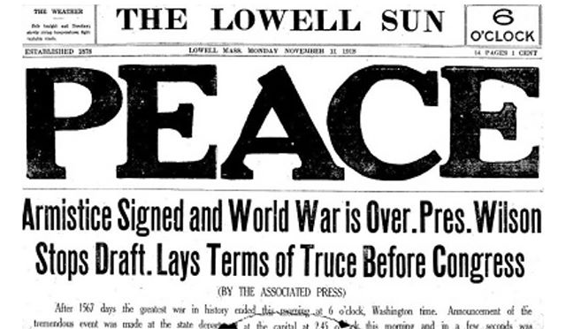 #ArmisticeDay began in 1918 to celebrate the end of World War I & the idea of ending all war. May we honor with action those who have served our country this #veteransday and ensure our public policy provides them with the support they need and our international policy moves us towards a more peaceful world.