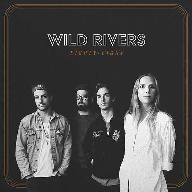 Made a record with the homies and it's out today! It's called Eighty-Eight by @wildriversmusic 🍻🎸