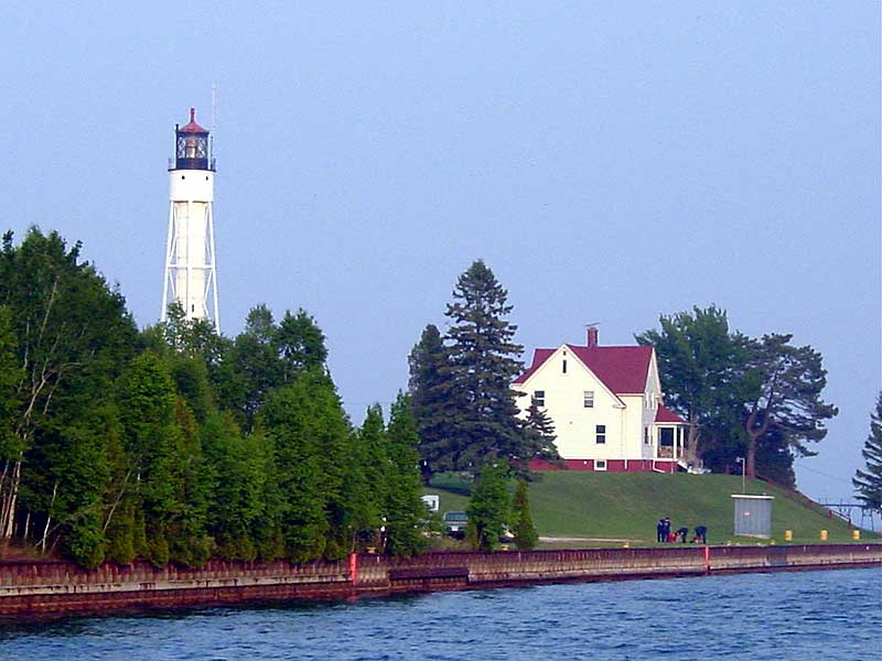 Visit Door County Maritime Museum for information on lighthouse tours and the Museum.