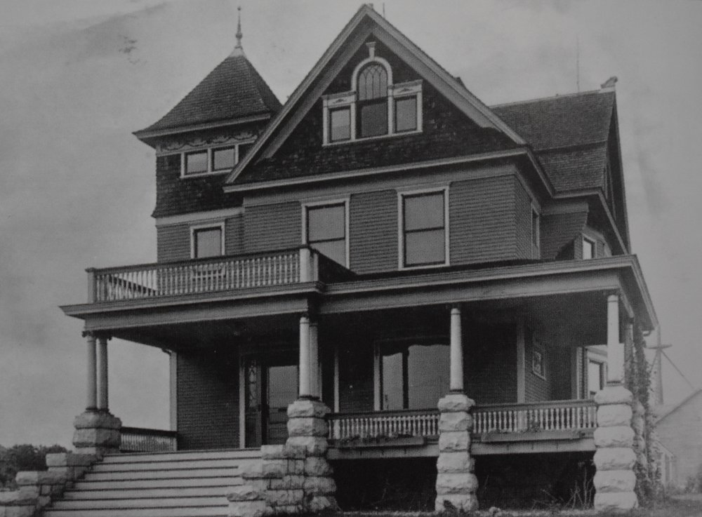 House as it was in 1902