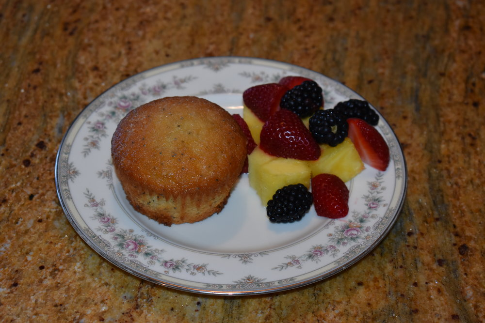 Picture of Muffin and Fruit