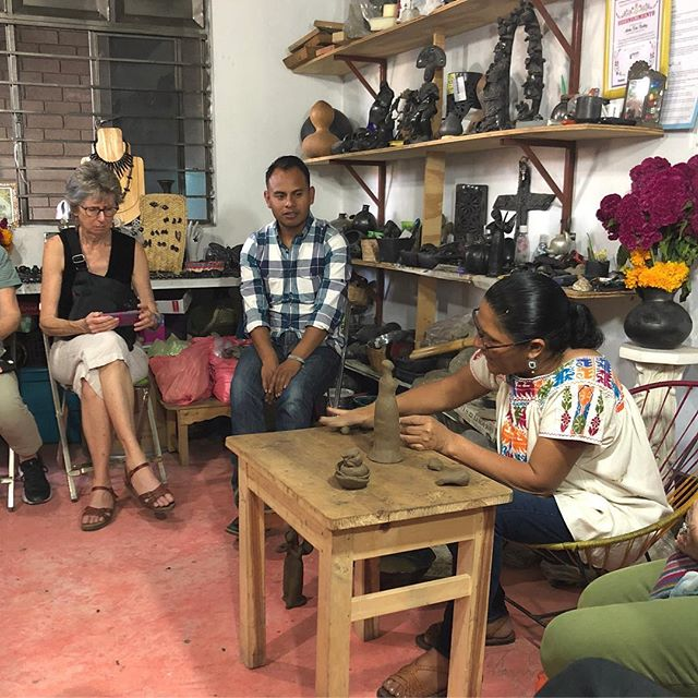 Learning from master artists, sharing stories of inspiration and traditions and building bridges between countries and cultures - it happens every time we bring people together. Make your own journey a reality and come travel with us. #zapotec #weavingoaxaca #oaxaca #artisttour #travelnottourism