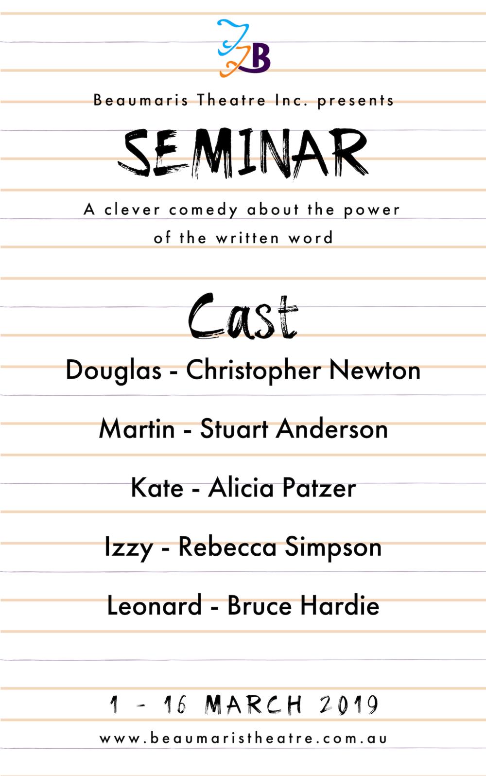 Seminar Cast Announcement 2.png