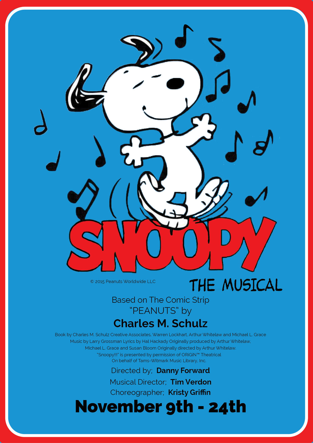 Snoopy - The Musical 2018
