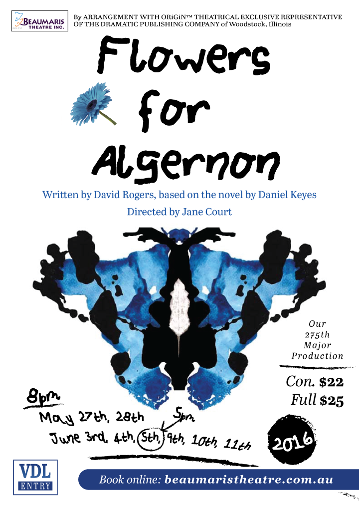Flowers for Algernon 2016