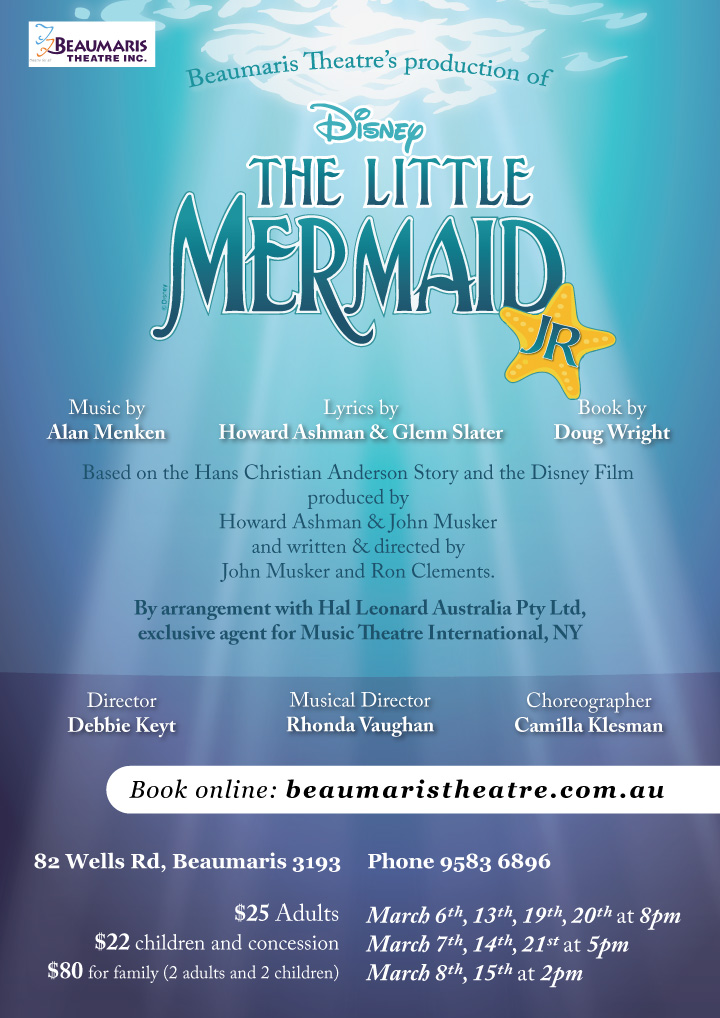 Little Mermaid Jr. 2015