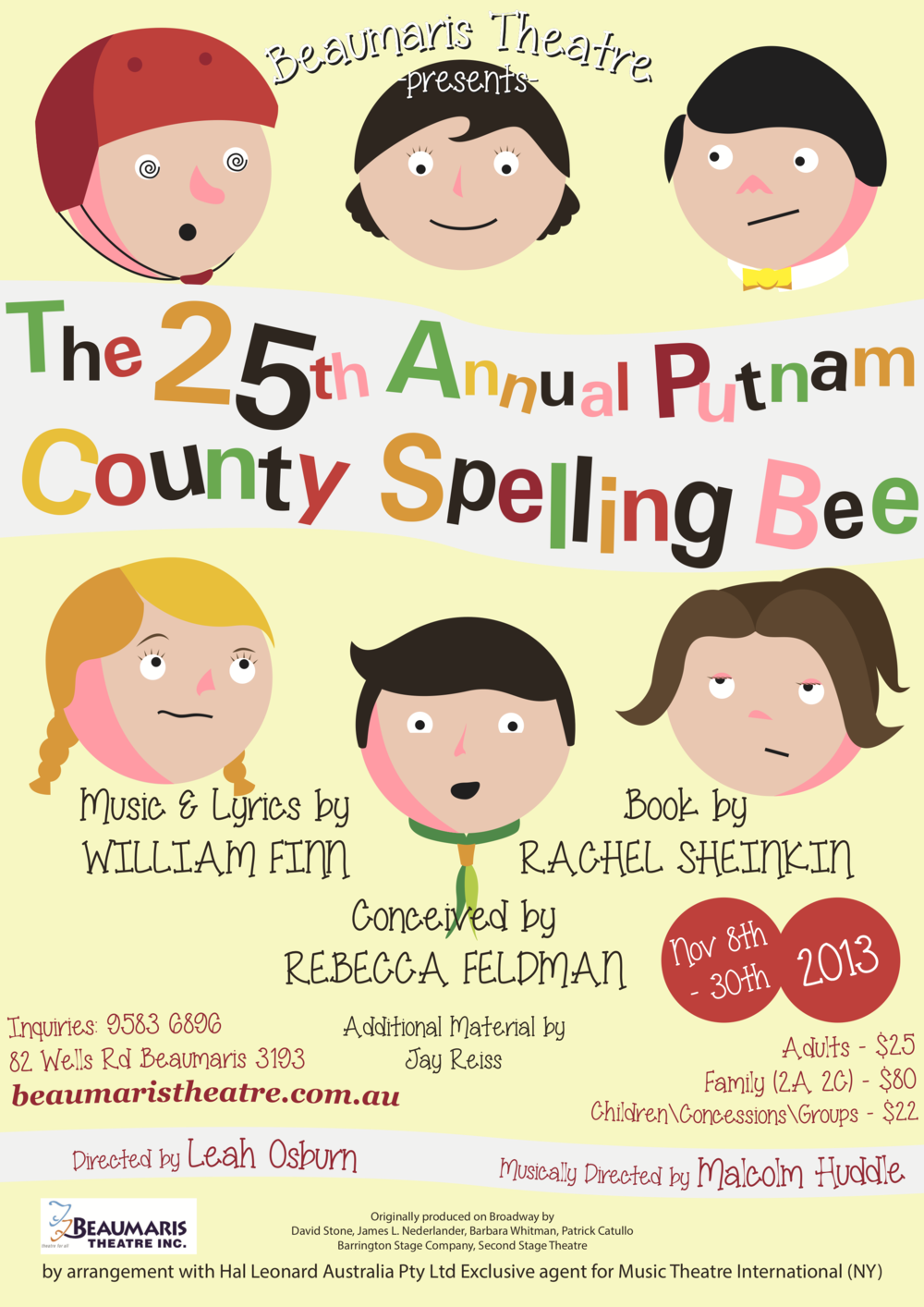The 25th Annual Putnam County Spelling Bee 2013