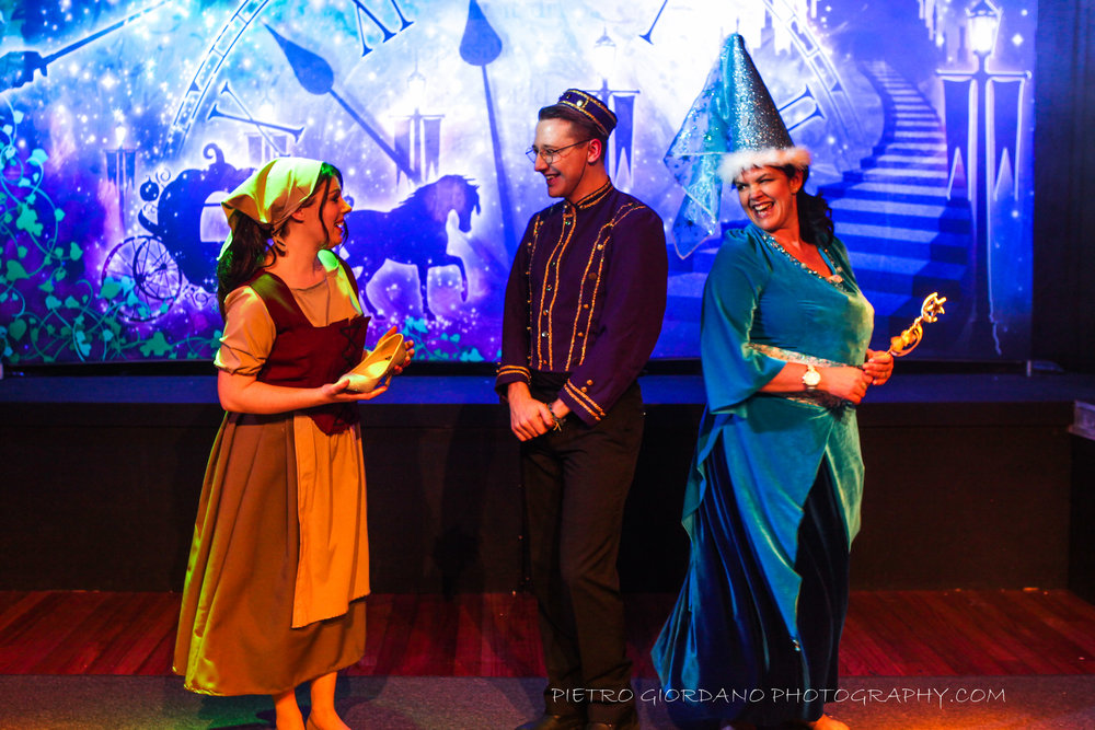28. Amy Gridley- Cinderella, Chris Hunter- Buttons and Georgy Charles - the Fairy Godmother.jpg