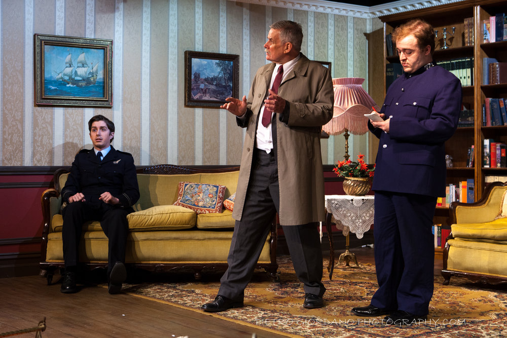 8. Fraser Mitchell- Roger Stiffy Allwright, Neil Barnett- Inspector Pratt and James Freeman- Thomkins.JPG