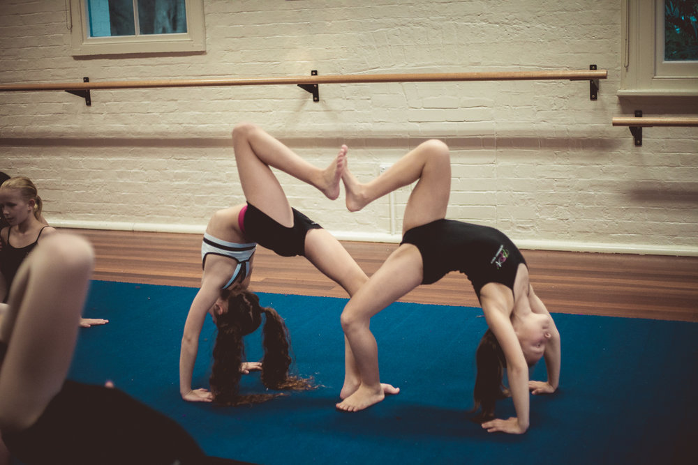 Wednesday - Wednesday is Elite Dance Acro by audition at Pose Perfomance Academy Botany.