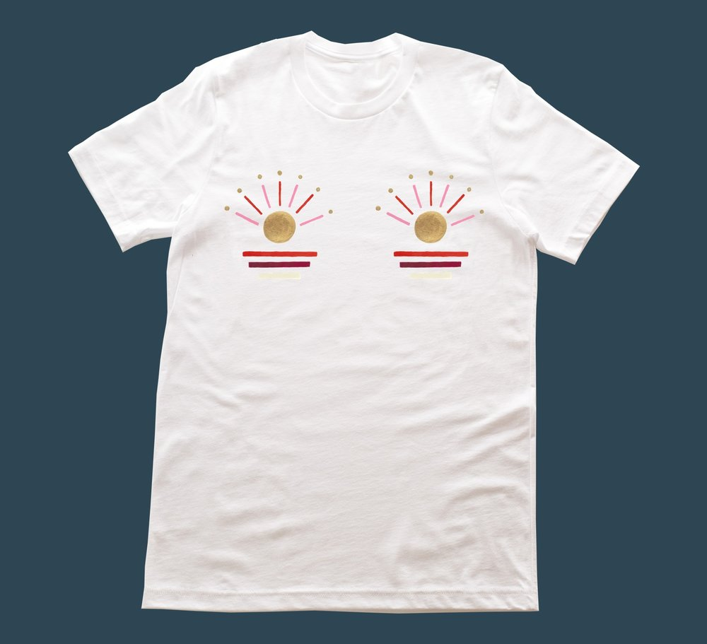"""US TEES - The """"us"""" tee is unisex and runs true to a slim fit men's sizing. If you're a woman that likes a looser fit, order your usual size or even a size up. If you want a slimmer fitting shirt, size down. Men, order your usual size. This is a fun shirt to cut a few inches off the bottom and sleeves for a new look."""