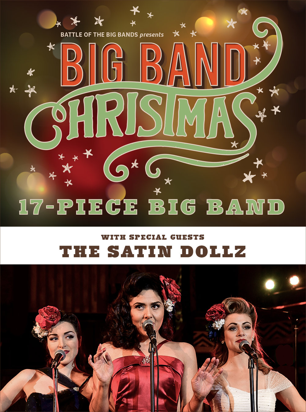 big band christmas vacaville ca 200pm gary vecchiarelli productions - Big Band Christmas