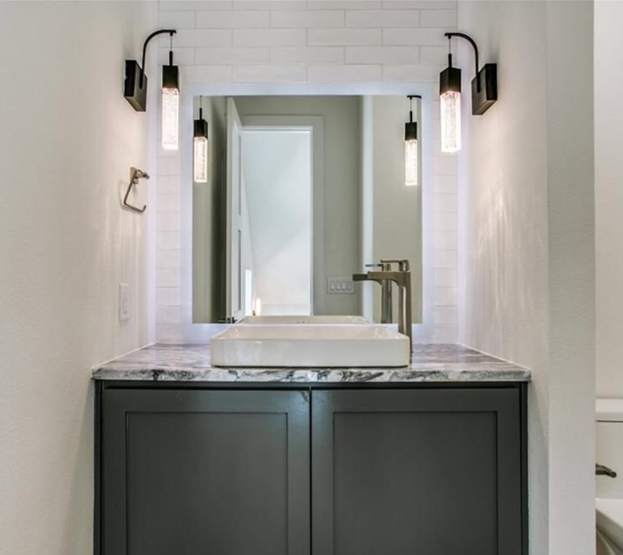 All vanities need light so why not make them awesome?
