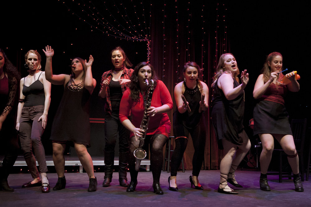 The Line, A Cabaret  (Cornish College of the Arts)
