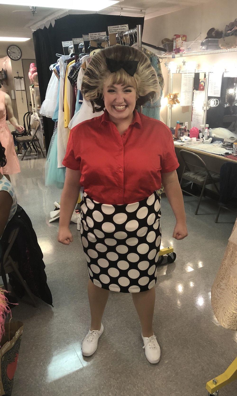 Backstage - Tracy Turnblad -  Hairspray  (Village Theatre)
