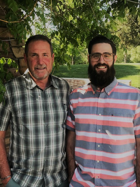 Fred and Jacob Maupin -