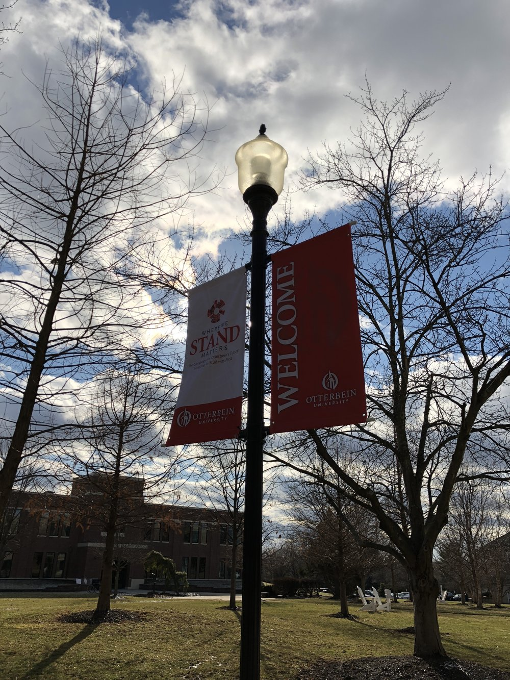 The Otterbein Office of Marketing and Communication maintains the brand image of the university, assisting in collateral design, content production and crisis communication