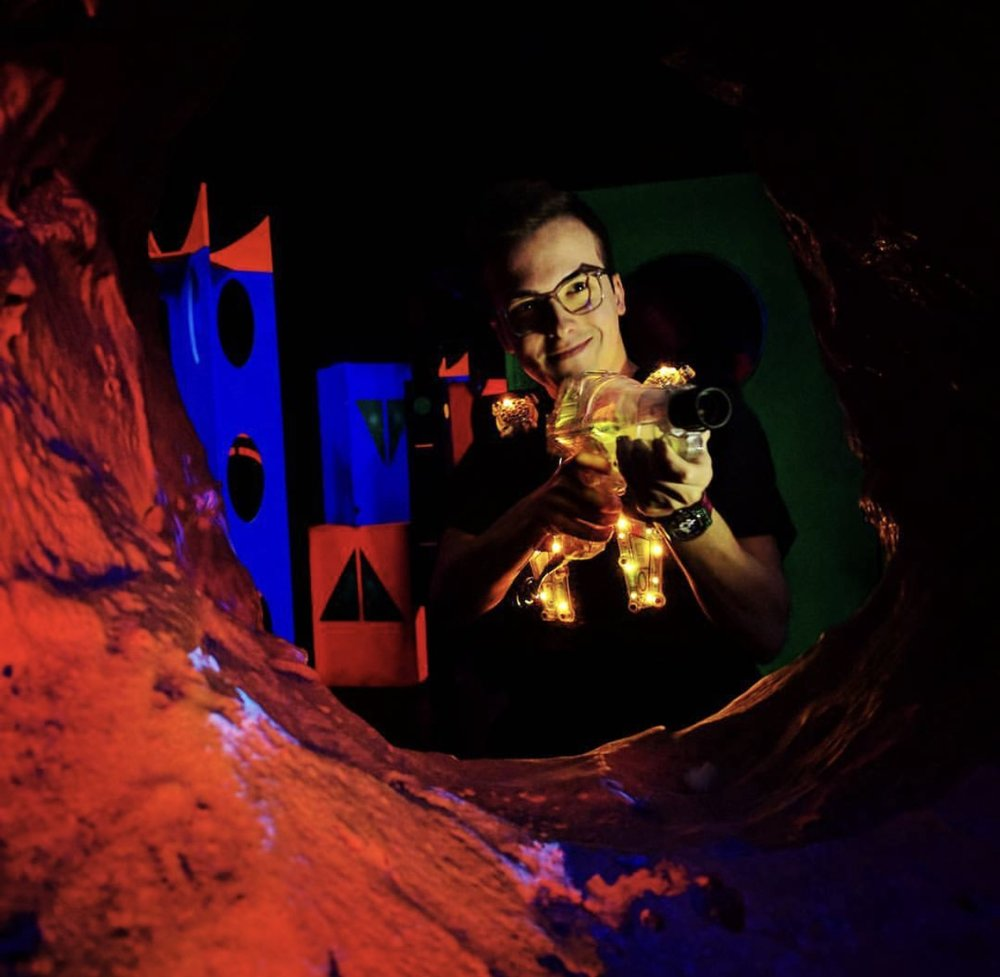 Lazer Kraze Family Fun Centers are a family-owned chain of entertainment venues that specialize in multi-level laser tag attractions
