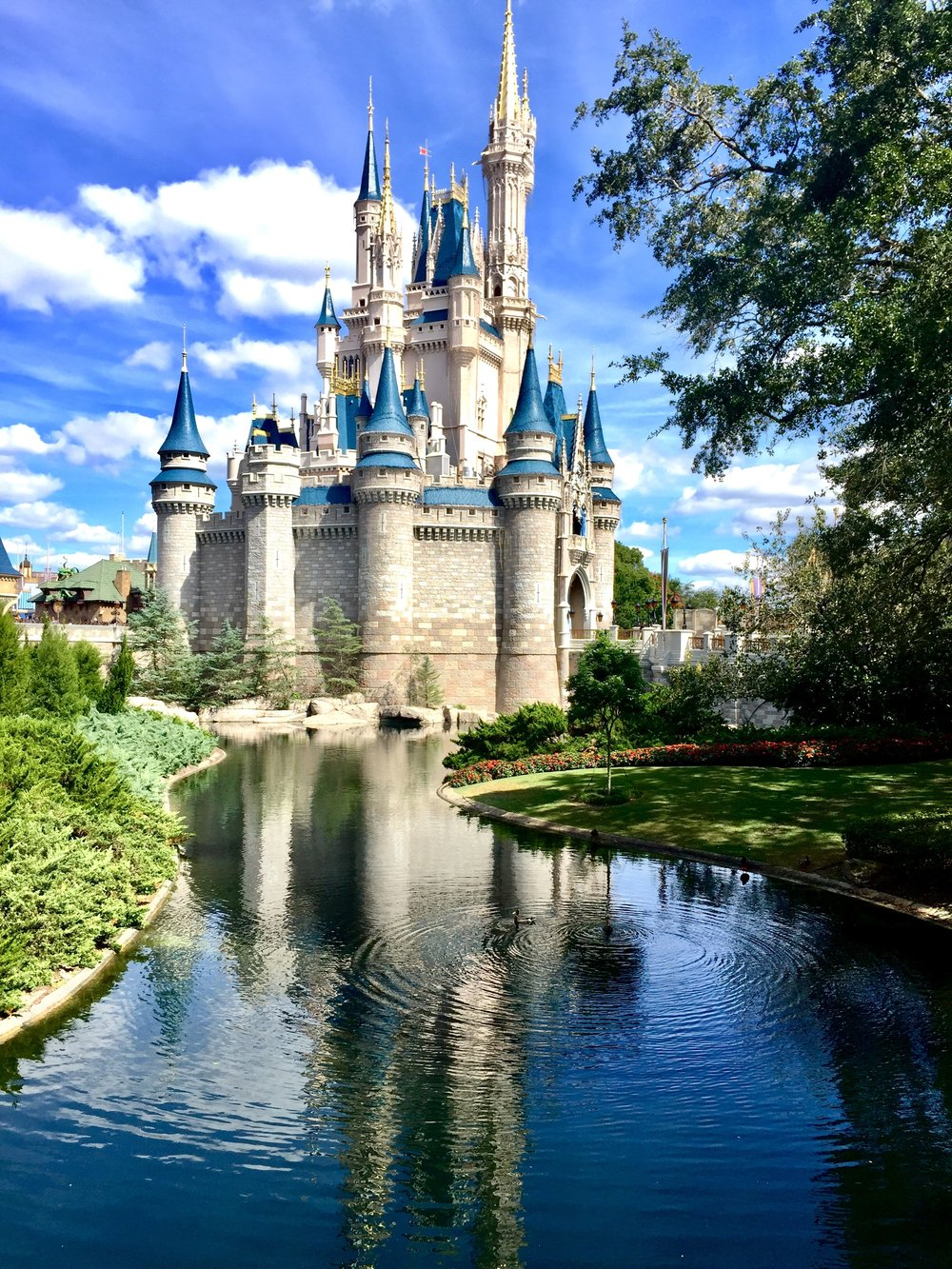 Cinderella's Castle at Disney's Magic Kingdom Park in Florida
