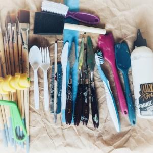 Brushes etc. -