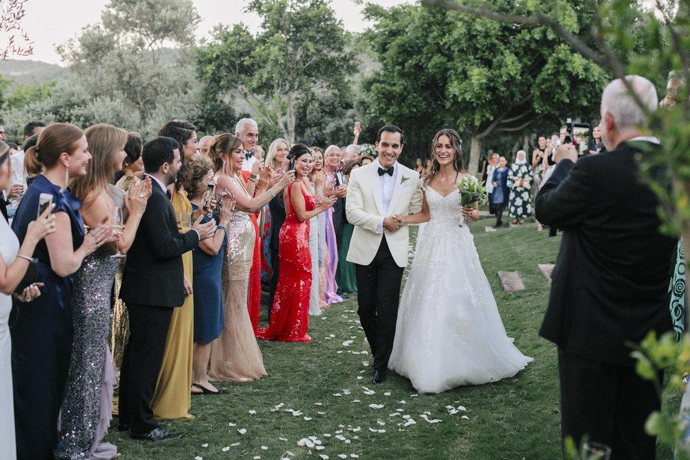 Magiskt bröllop i Bodrum