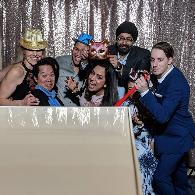 Kick starting 2019 with a banger 🔥 . . . . . . .  #pineapplephotobooth #pineapple #pineapplephoto #photo #photobooth #photography #vancouver #yvr #party #wedding #vancouverwedding #photoboothfun #weddingday #instadaily #instapic #instagood #instalove #potd #igdaily #igers #event #photoboothprops #photoboothrental #eventphotography #daily #vancityhype #vancouverweddingphotographer #officeparty #lit