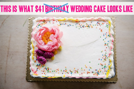 A sheet cake is not a substitute for what we do, and stop trying to tell us it is! -