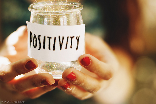 """"""" Positivity """" by  Marta Zappia  is a Creative Commons image, licensed under  CC BY 2.0"""