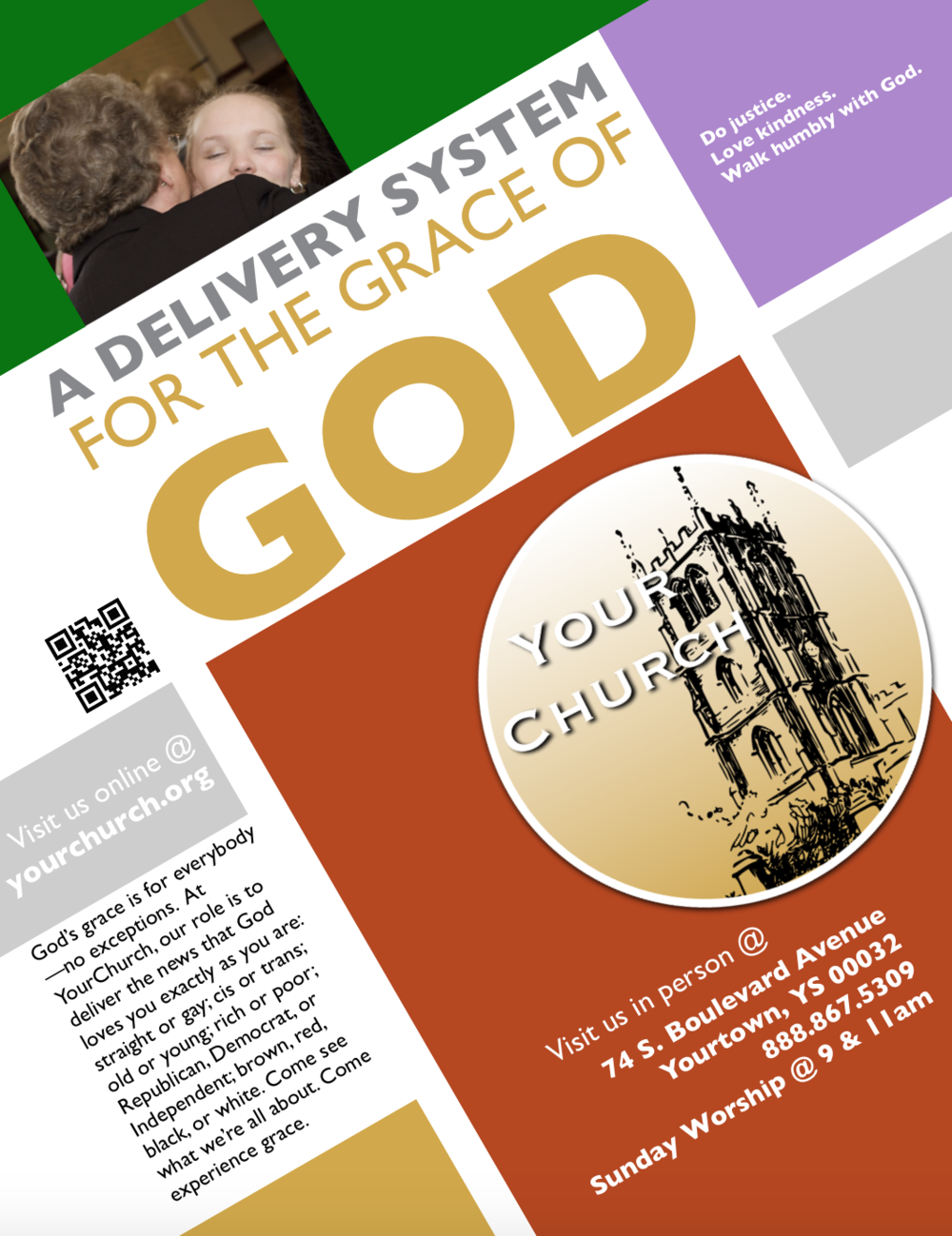 YourChurch Promotional Flyer (Delivery System)