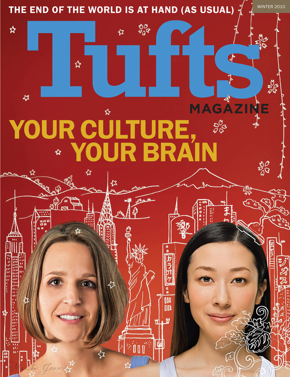 Tufts magazine