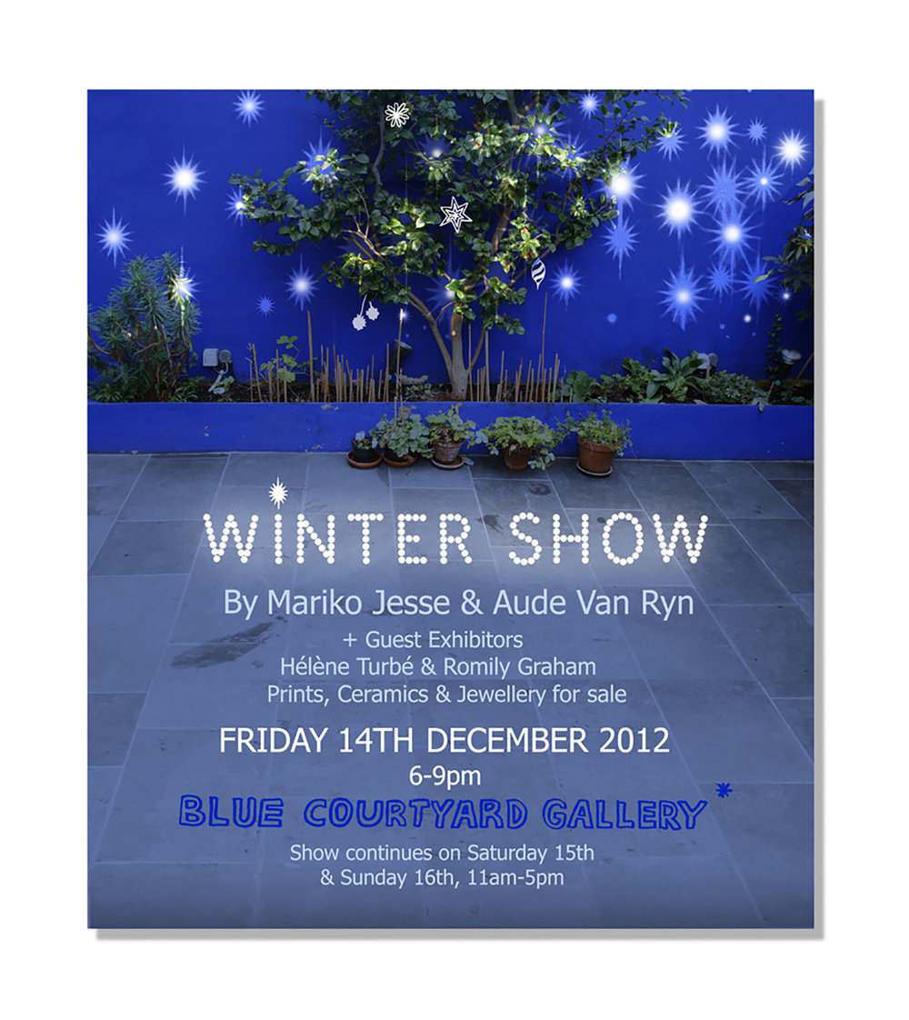 winter show invitation