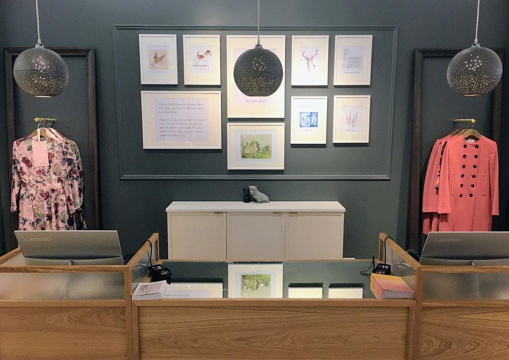 HOBBS instore display