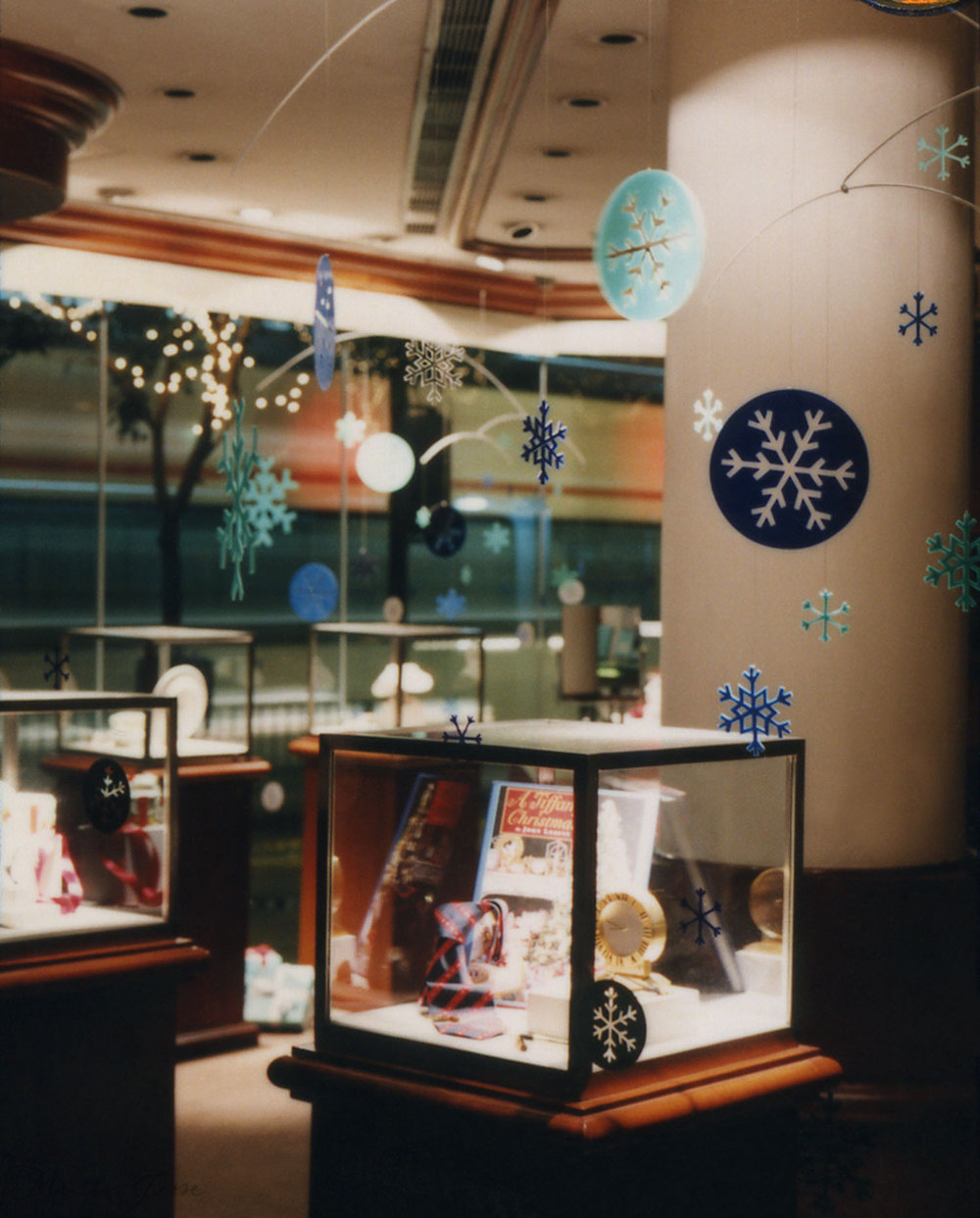 Tiffany & Co. instore display