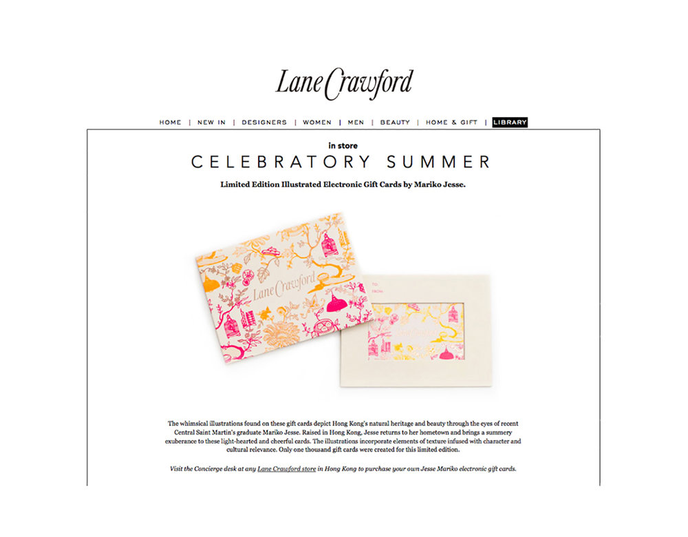 Lane Crawford gift cards